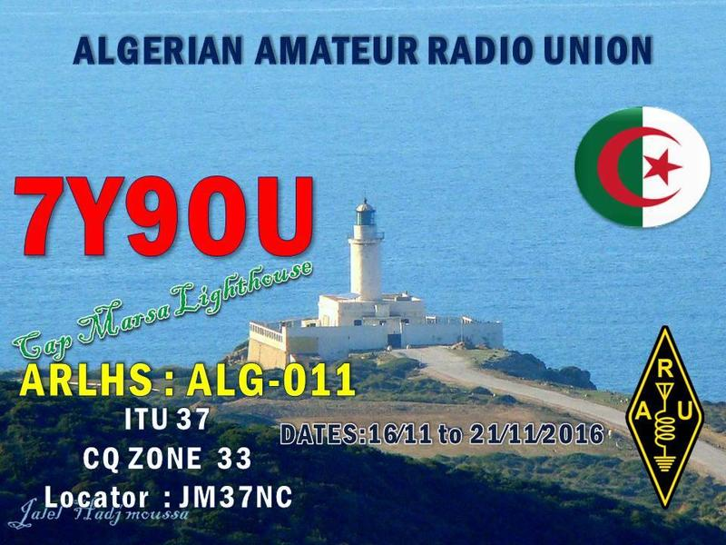 LIGHTHOUSE ACTIVATION 7Y9OU November 2016