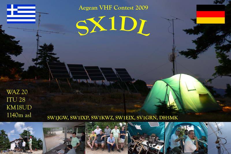 SX1DL Operation 2009