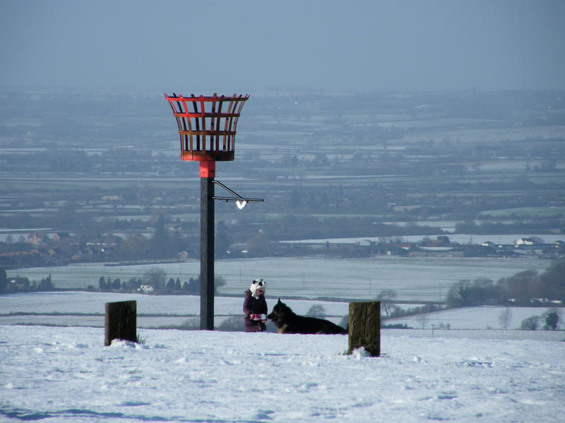 Jubille Beacon - Dunstable downs.