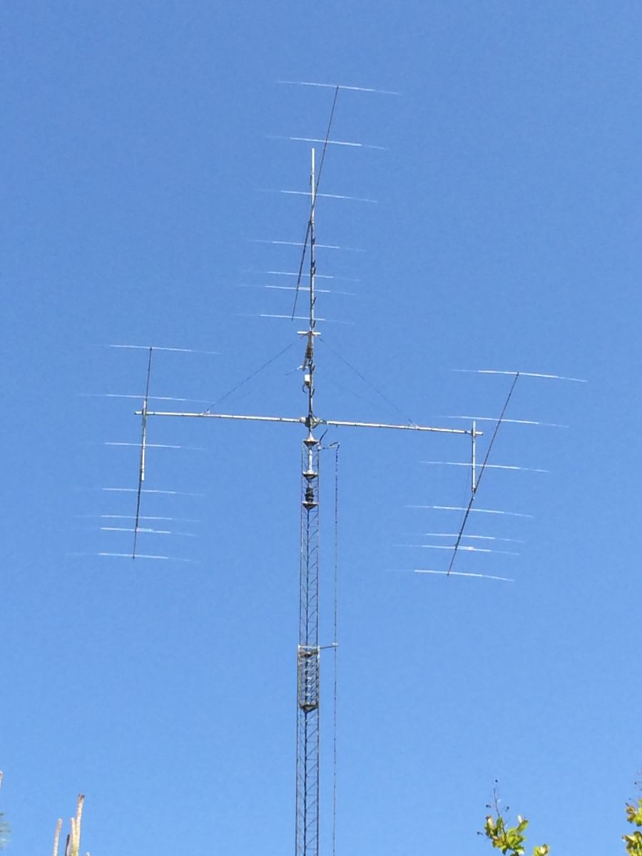 3 x 7 element Yagi for 6m JR1LZK