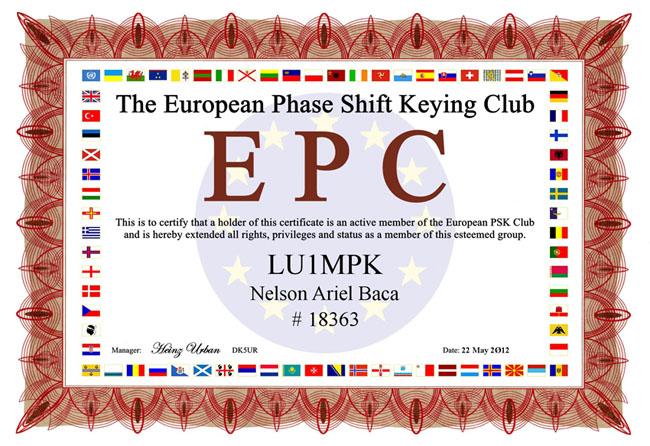 The EPC LU1MPK