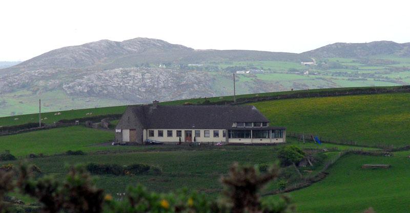 'GLV viewed from the summit of Mynydd Eilian