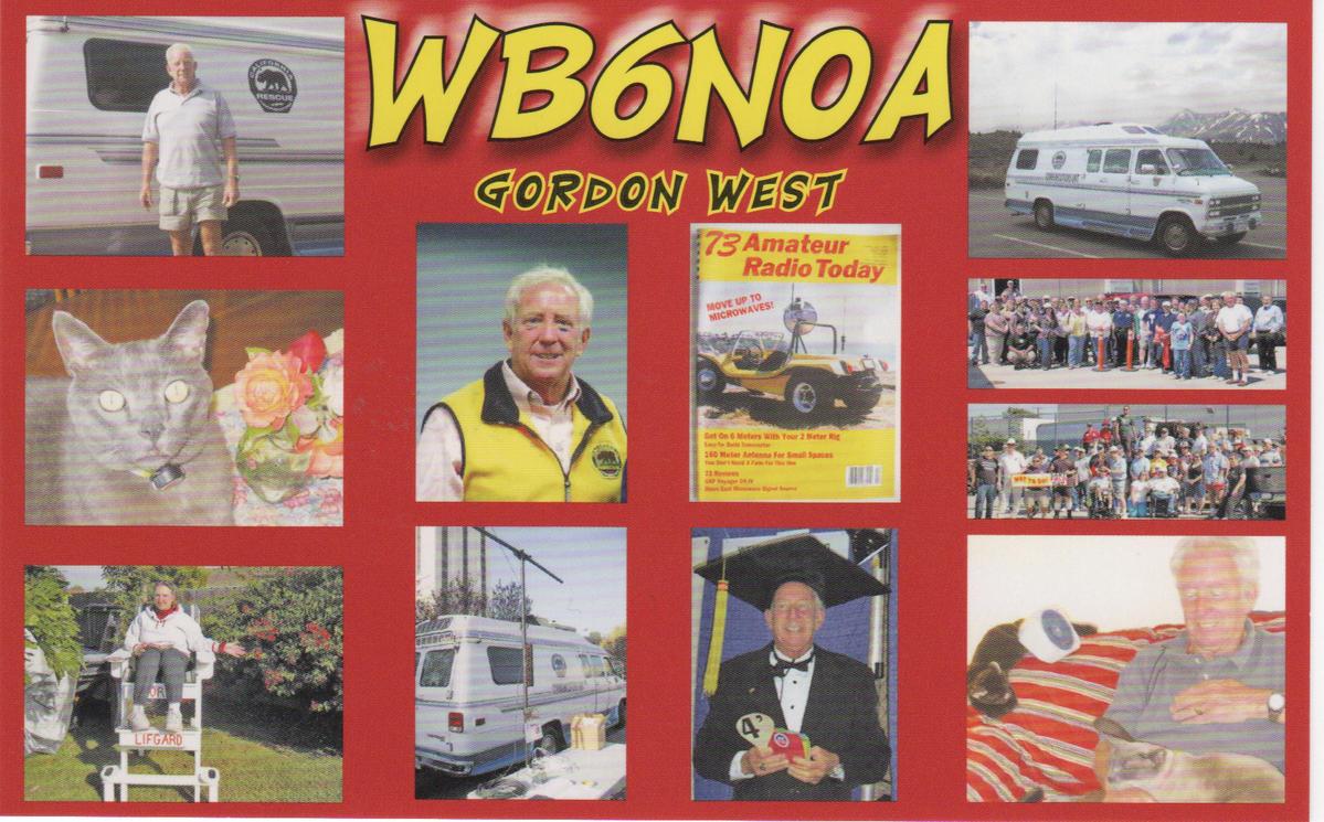 Gordan West WB6NOA