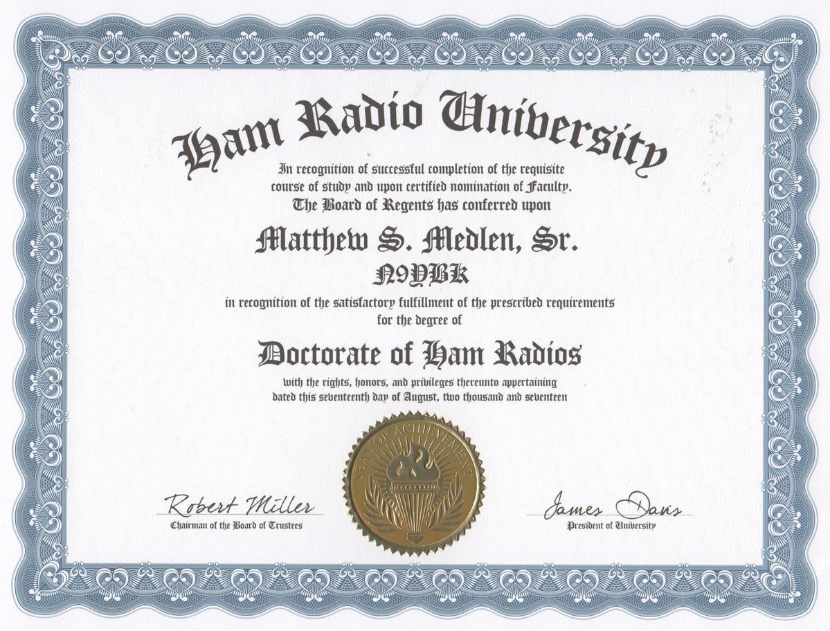 Misc Certificates