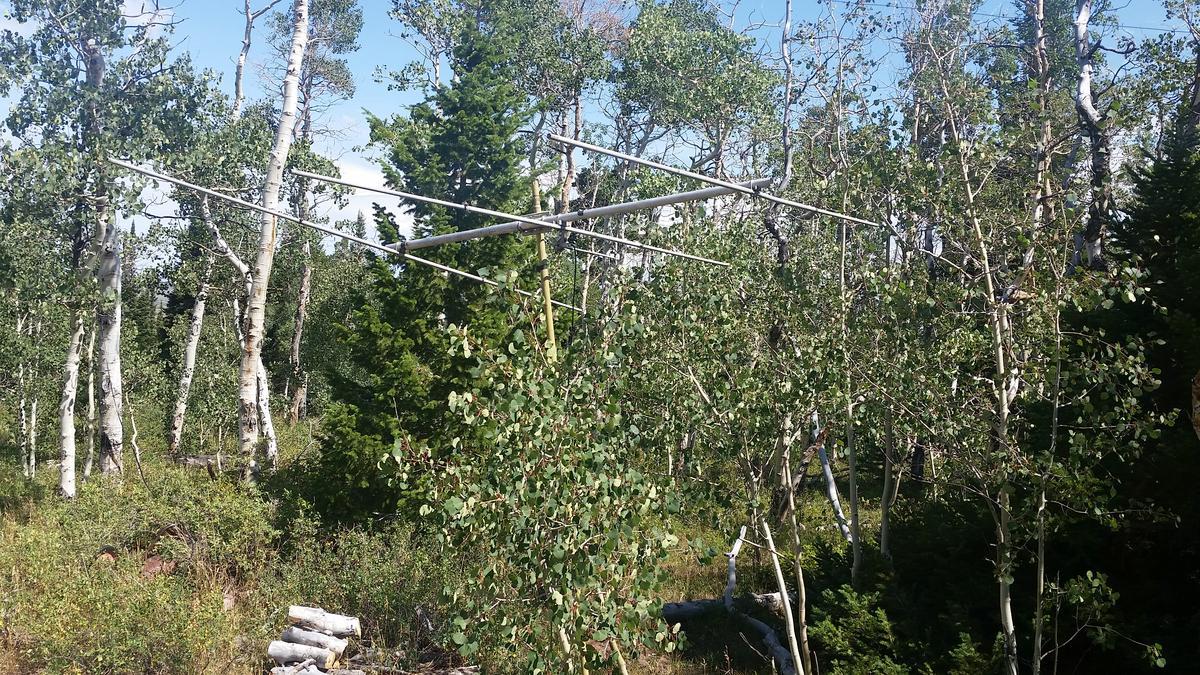 6 Meter Antenna in Wyoming