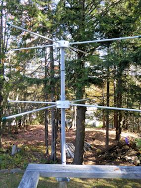6m J-pole antenna