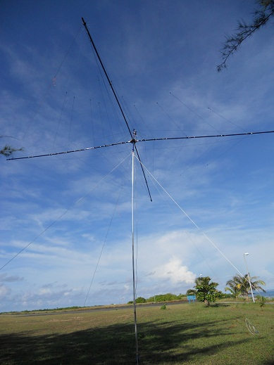 One of the antenna at 9M0L