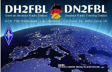 QSL Card of DH2FBL/DN2FBL