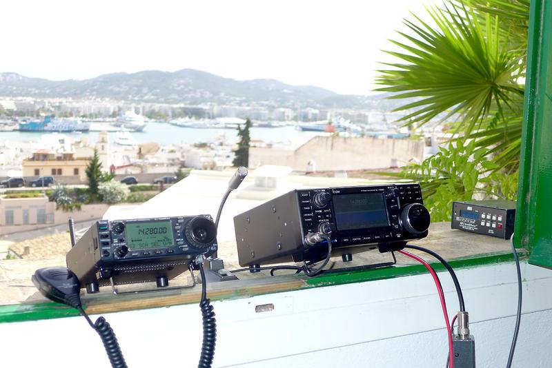 IC-7300 in Ibiza 2016