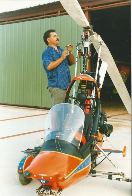 Mi other Hobby Autogiro designed i built for my in year 1992