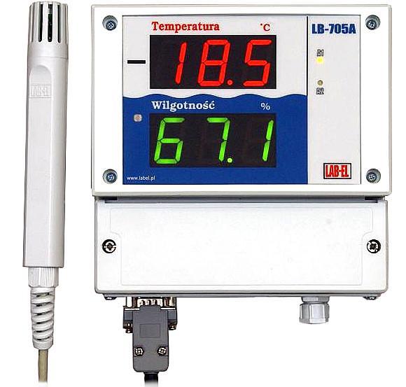 Thermo-hygrometer LB-705 witk LB-701