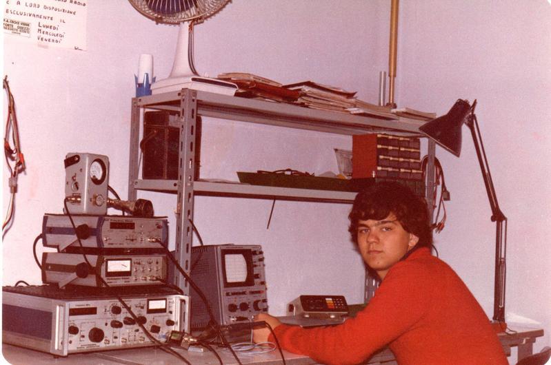 Il mio primo lavoro come tecnico manutentore ponti radio