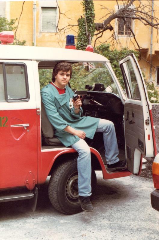 Da volontario nella mitica Croce Verde Forte Quezzi di Genova
