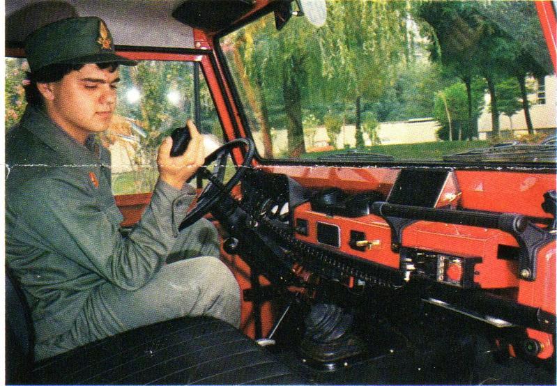 Durante il servizio militare nei VVF