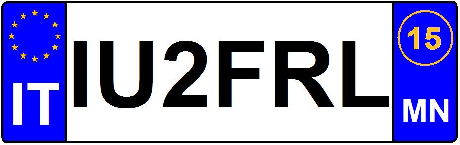 Targa IU2FRL