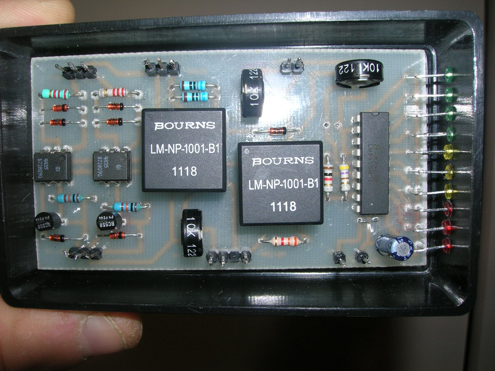 digital interface for psk31 rtty cw with vu-meter