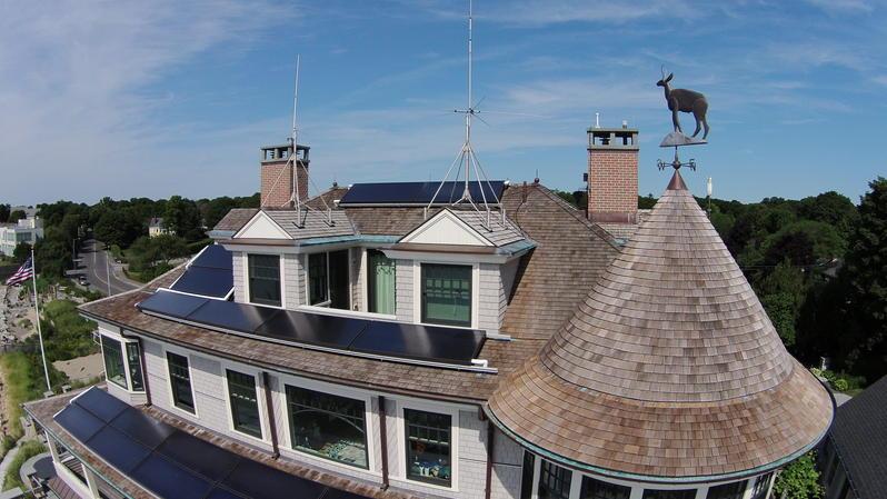 Antennas on my rooftop
