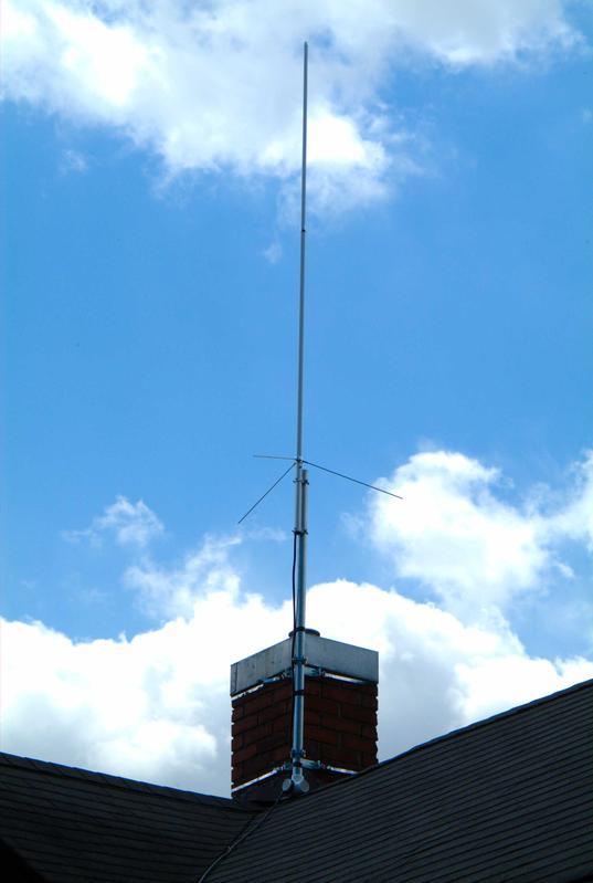 Chimney Antenna Mast ~ K svl callsign lookup by qrz ham radio