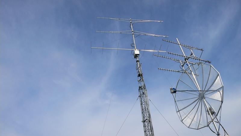 Antennas in summertime