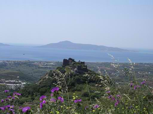 CASTLE OVER NEAPOLIS CITY WITH WEST VIEW ELAFONISOS ISLAND
