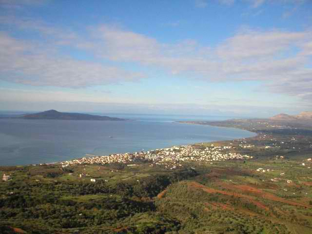 NEAPOLIS CITY AND VATICA BAY FROM TOP EAST