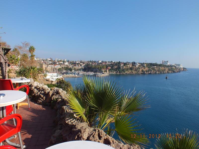 Antalya. Yat limanı ve Kale içi