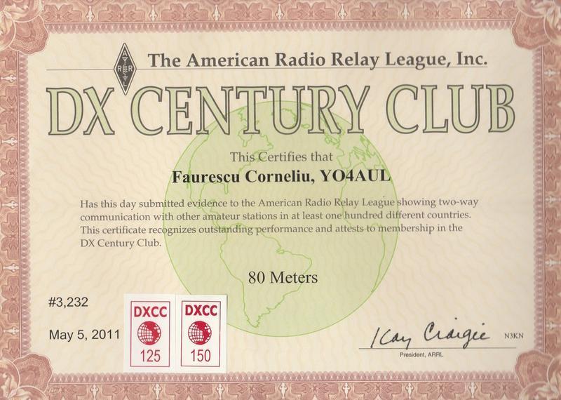 80 Meters DXCC