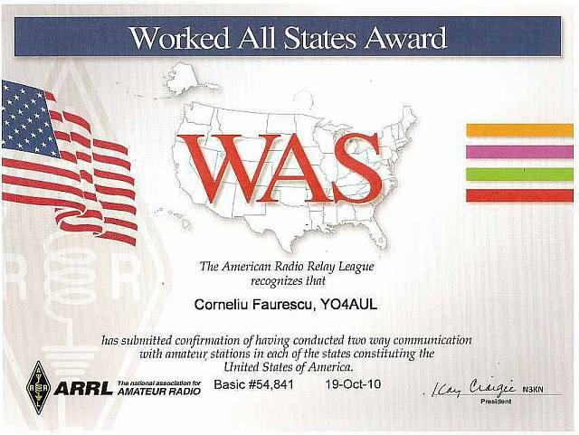 WAS Basic Award