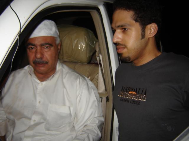 OM Rashid , A71AN with Young OM Rashid A71AD