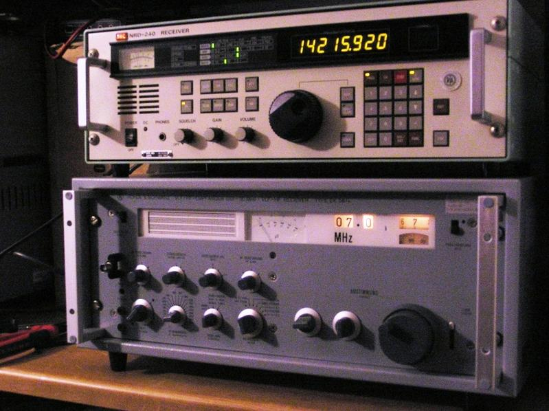 mMy two favorites solid state receivers