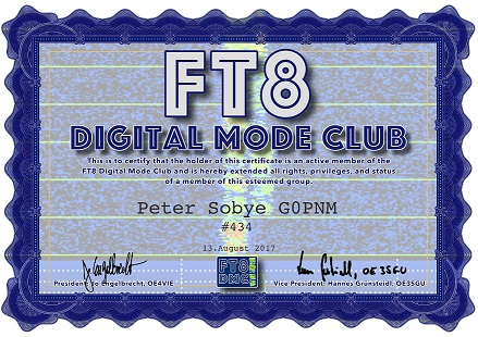 New Digital Mode - FT8