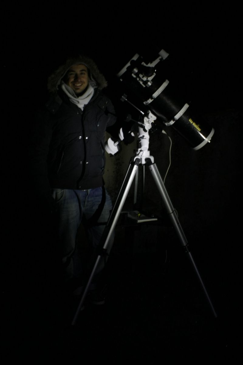 Astronomy, one of my passions.