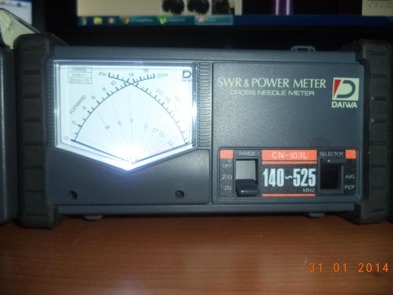 Daiwa Swr Meter manual