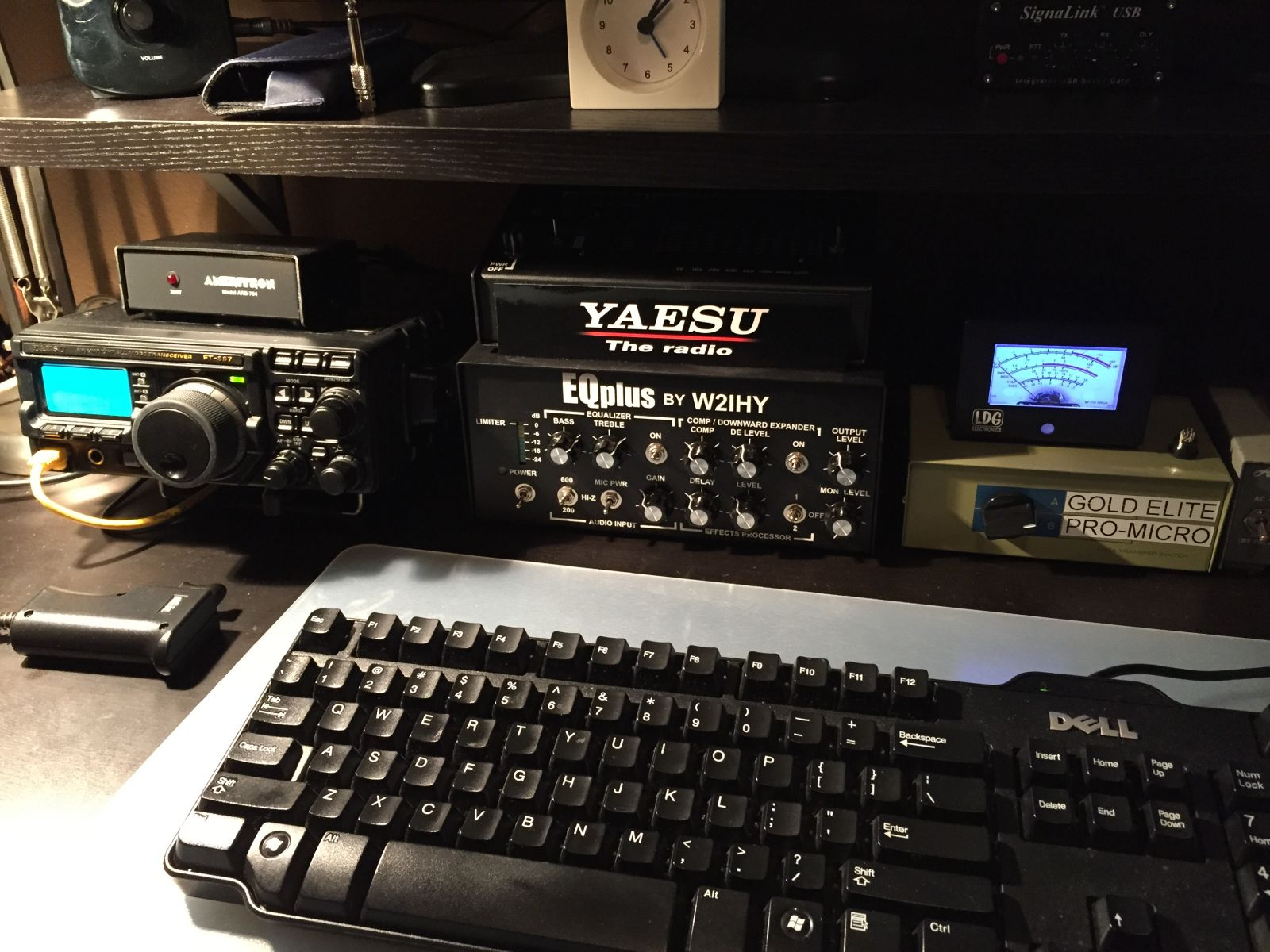 how to connect ft-857d mfj arb-704 and yaesu fl-2100b