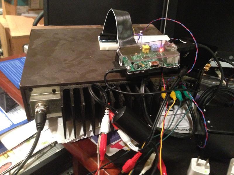 A Raspberry Pi Echolink server running svxlink