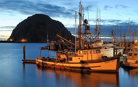 I was raised on the Central Coast in Morro Bay Ca.