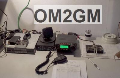 OM2GM QTH 2014
