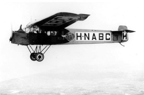 Fokker F2 (early 1920's)