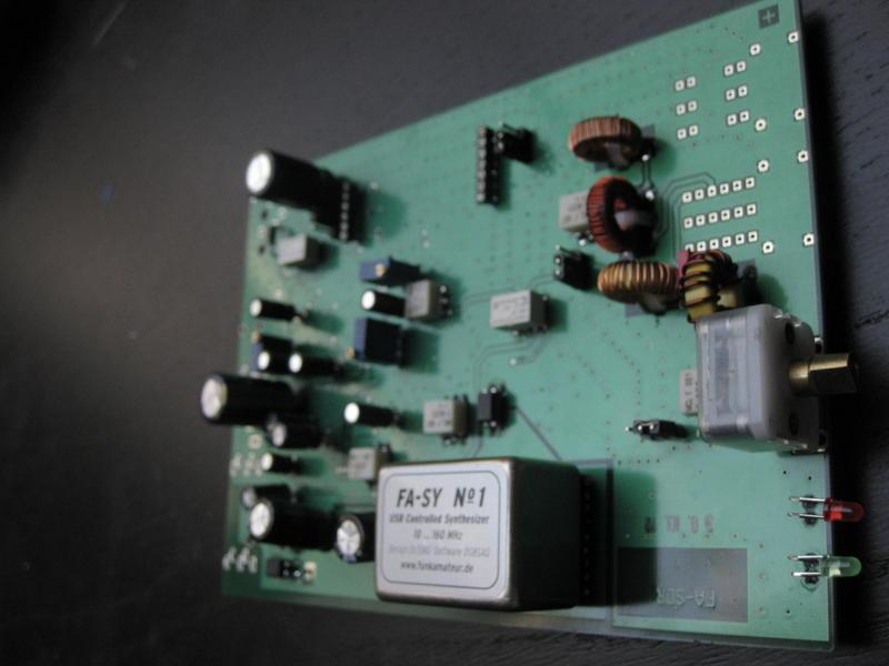 FA-SDR transceiver build