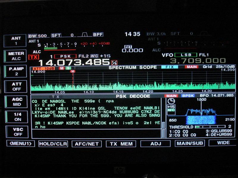 IC-7800 K6LLK Small Signal Position