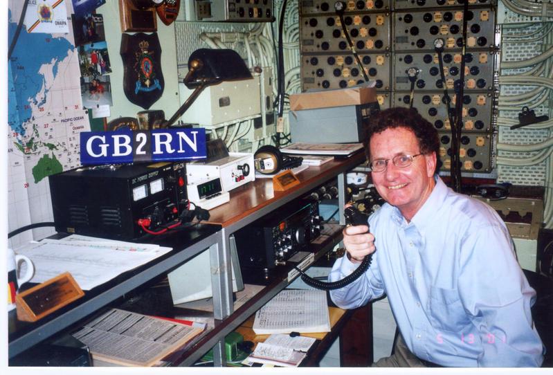 WD4MSM On HMS Belfast, London