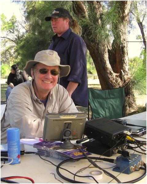 WD4MSM/VK6 Australian Field Day 2010