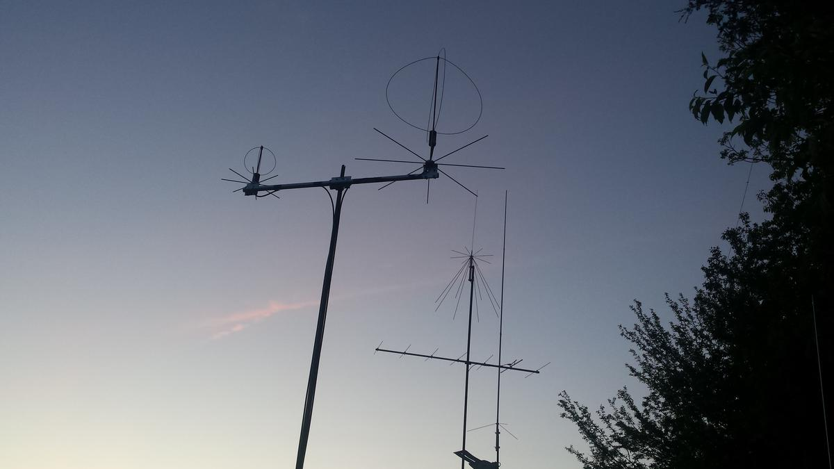 Satellite operations and spare HF position.