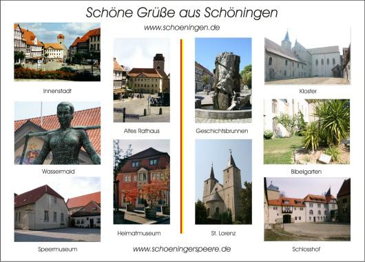 Postkarte1 von Schöningen