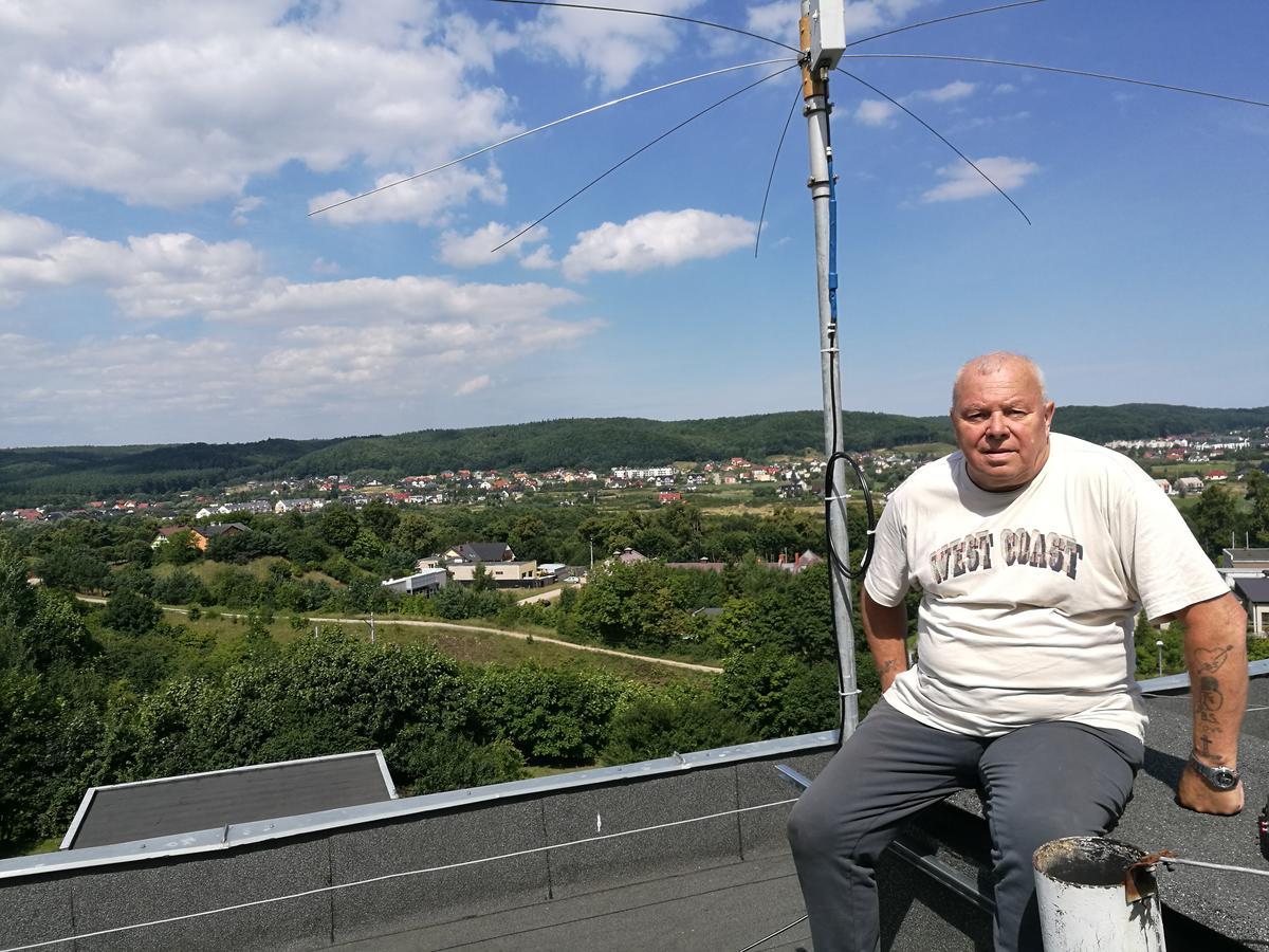 New receiver antena GP7