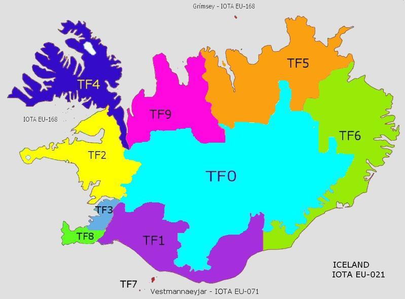 map prefix iceland