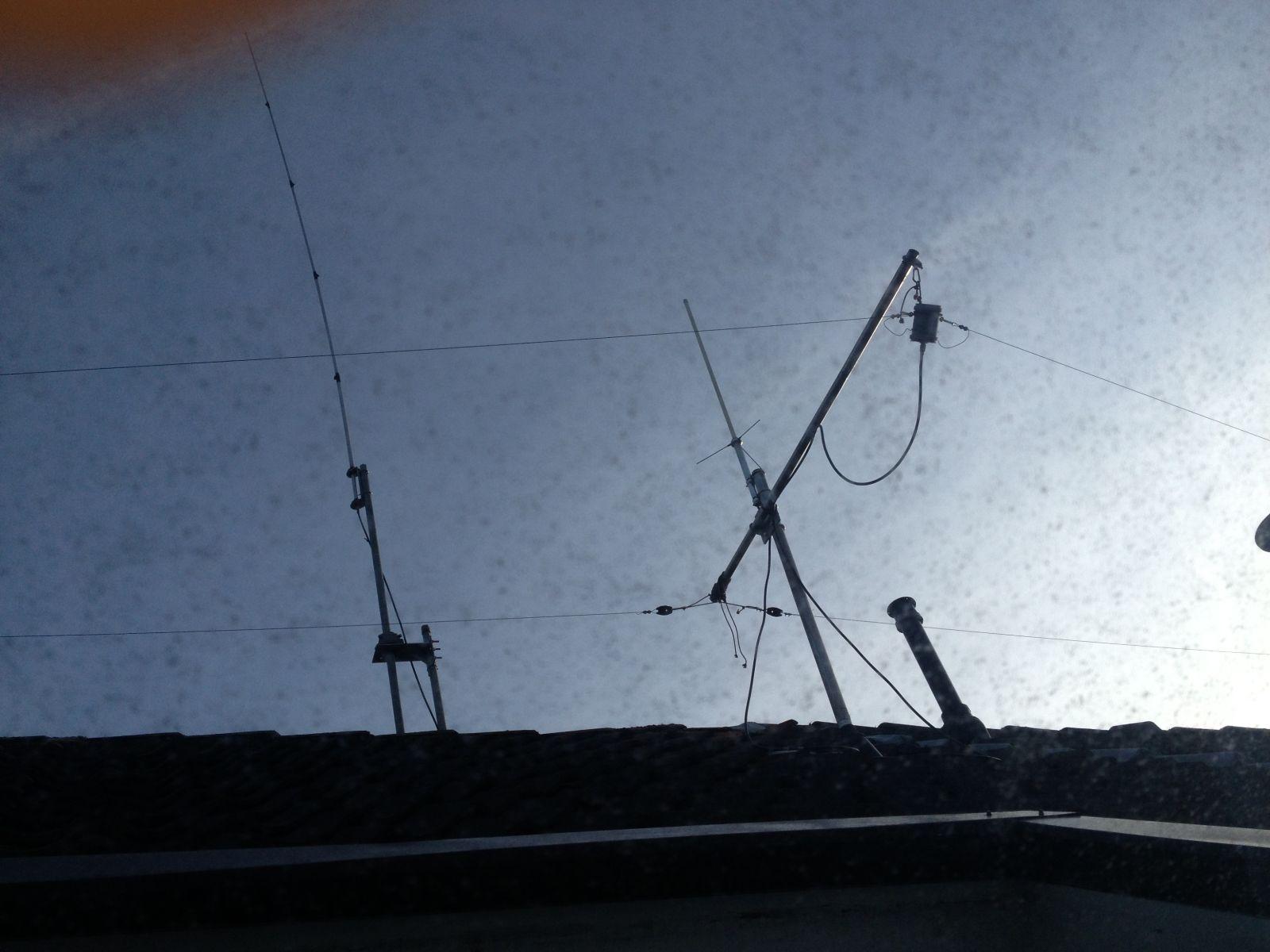 Meine 80 Meter Antenne