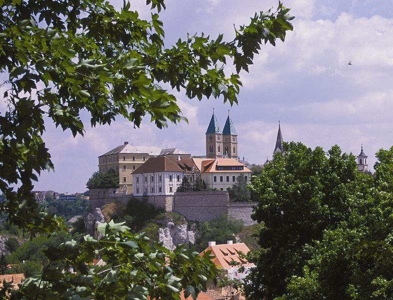 The castle of Veszprém