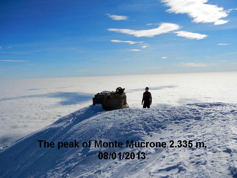 IK1ZYO - Peak of Monte Mucrone 2335 m.