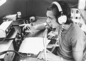 Operating from Nokesville, VA in 1974 during Field Day.